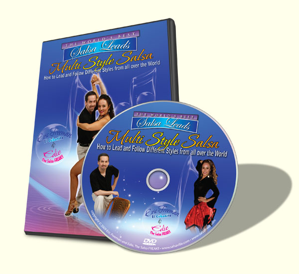 Image of the DVD cover of Multi Style Salsa