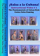 �Salsa a la Cubana!:  Instructional Video #1