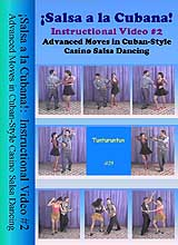 ¡Salsa a la Cubana!: Instructional Video #2